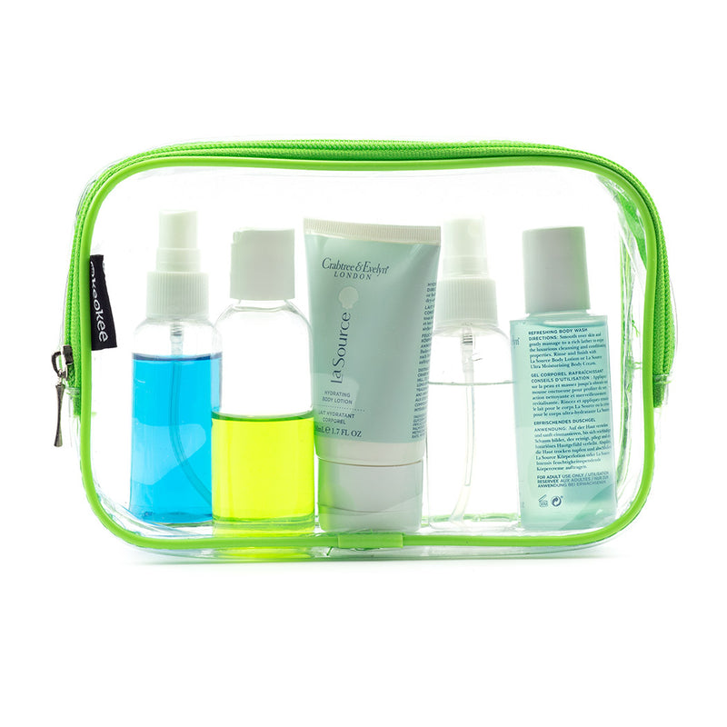 TSA Approved Clear Toiletry Bag - Keokee Travel Gear