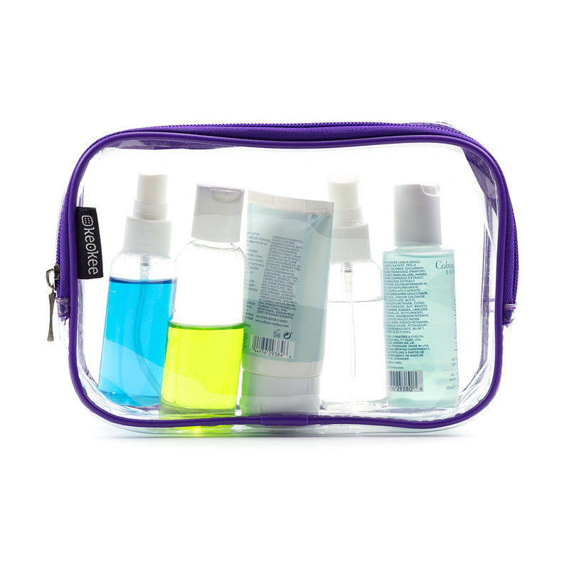 Clear Toiletry and Cosmetics Bag - Keokee Travel Gear