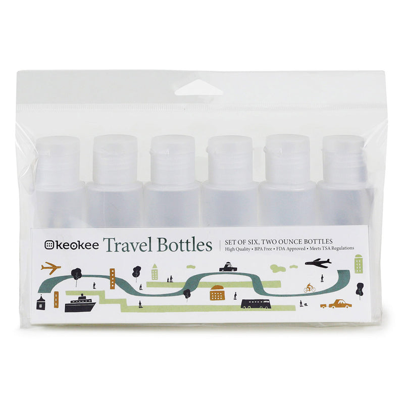 Keokee® Travel Bottles - Keokee Travel Gear