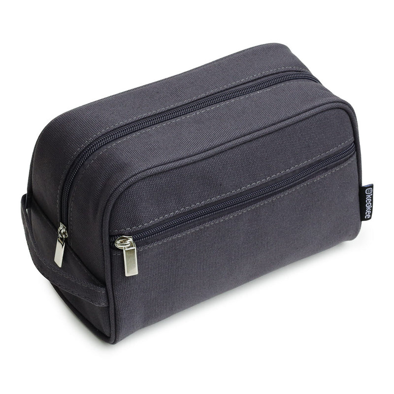Canvas Travel Toiletry Bag Shaving Kit for Men - Keokee Travel Gear