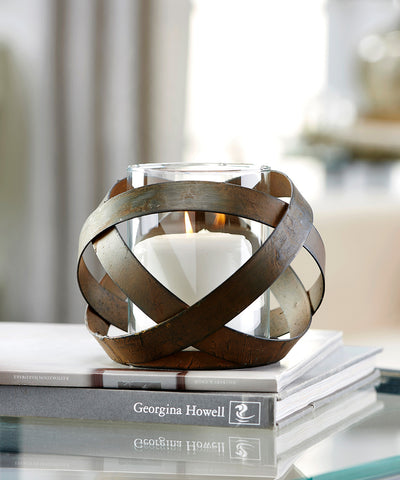 Abstract Ball Design Candle Holder