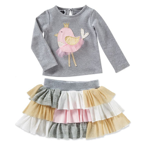 Chickadee Tutu Skirt Set