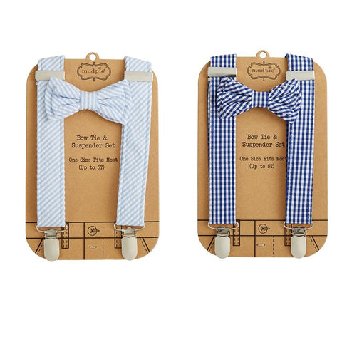 Bow Tie & Suspender Sets