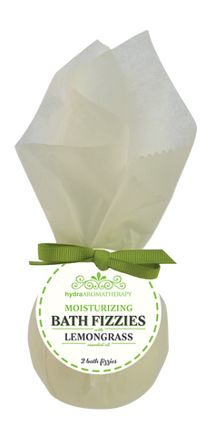 Lemongrass Bath Fizzies