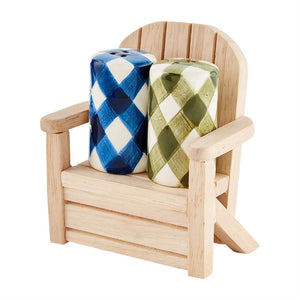 Check Salt & Pepper Chair Set