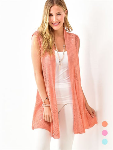 Bright Knitted Vest
