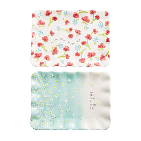 Floral Sentiment Trays