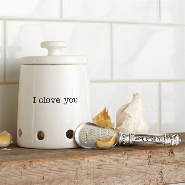 Ceramic Garlic Keeper Set