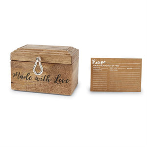 Made With Love Recipe Box Set