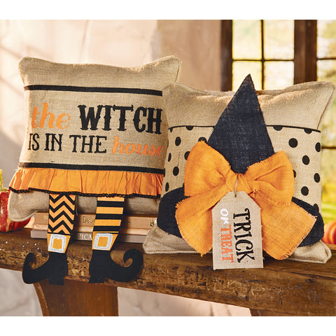 Halloween Witch Pillow Wraps