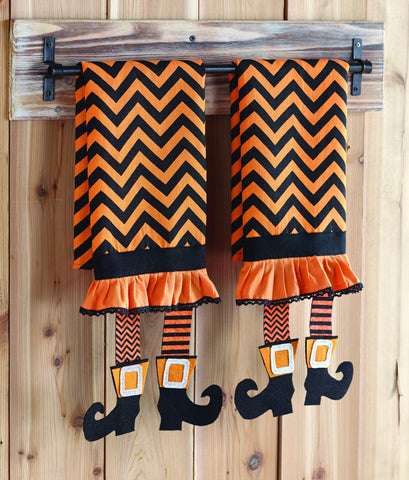 Witch Legs Hand Towel