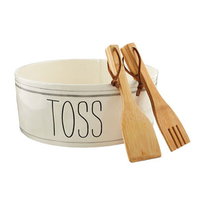 Toss Salad Bowl Set
