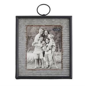 Large Corrugate Tin Frame