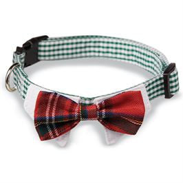 Plaid Tie Dog Collars