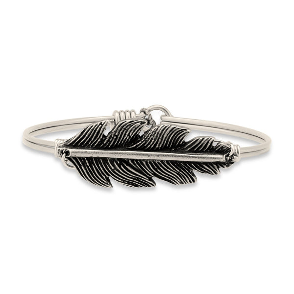 Luca + Danni Lucky Feather Bangle