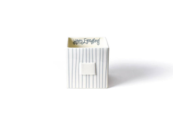 Stone Stripe Mini Nesting Cube Medium