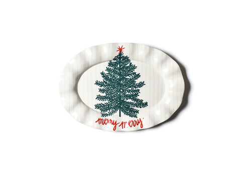Merry Tree Oval Platter