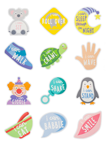 """I Can..."" Belly Stickers"