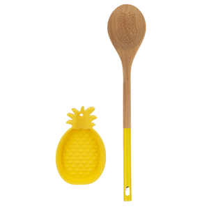 Spoon with Pineapple Spoon Rest