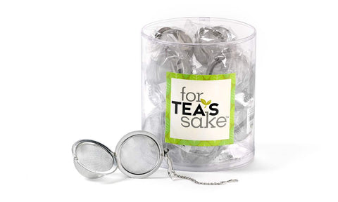 For Tea's Sake, Stainless Steel Tea Steeping Ball