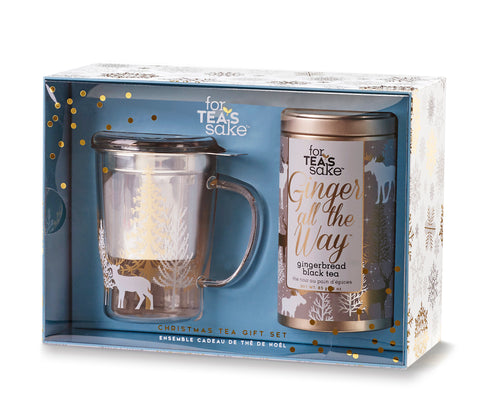 For Tea's Sake Ginger All the Way Holiday Giftset