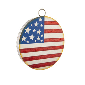 RTC Mini Gallery American Flag Charm