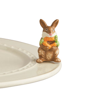 Nora Fleming Mini: Funny Bunny