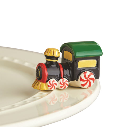Nora Fleming St. Jude Train Mini
