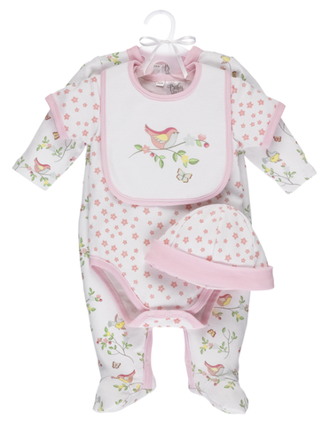 Bird Layette Set (4 pc. set)