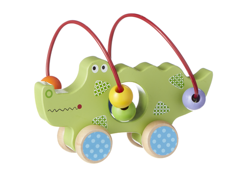 Wooden Alligator Push Toy