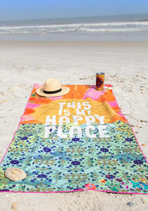 My Happy Place Microfiber Towel