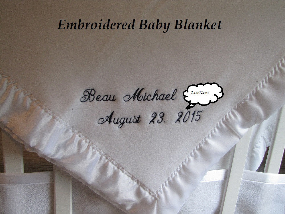 Keepsake Baby Blanket