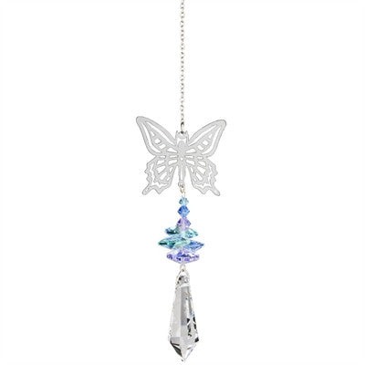 Crystal Fantasy Suncatcher - Butterfly