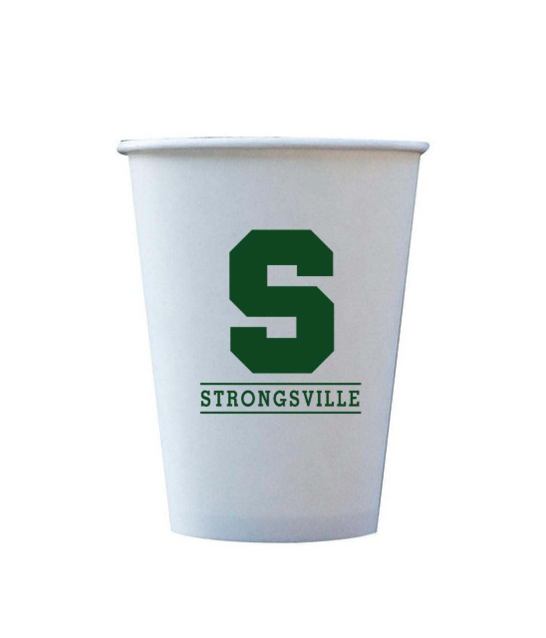 Strongsville 12 OZ. Hot/Cold Paper Cups
