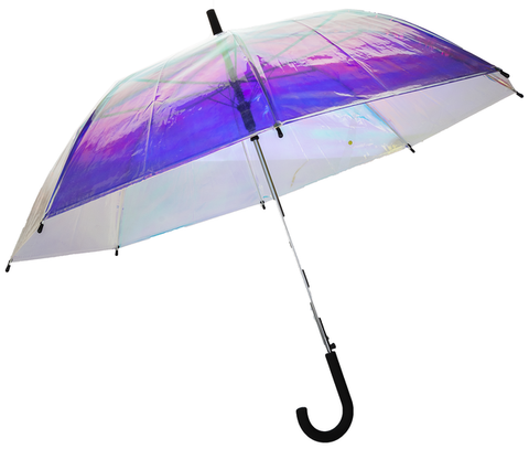 Irridescent Rainbow Umbrella