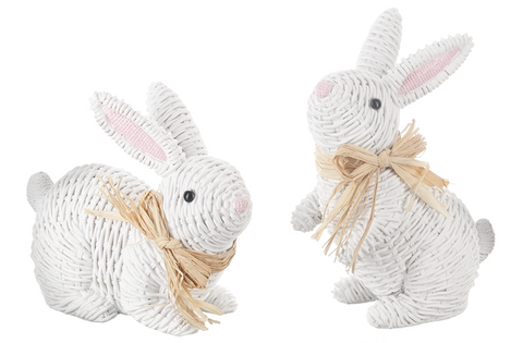 Wicker Look Bunny
