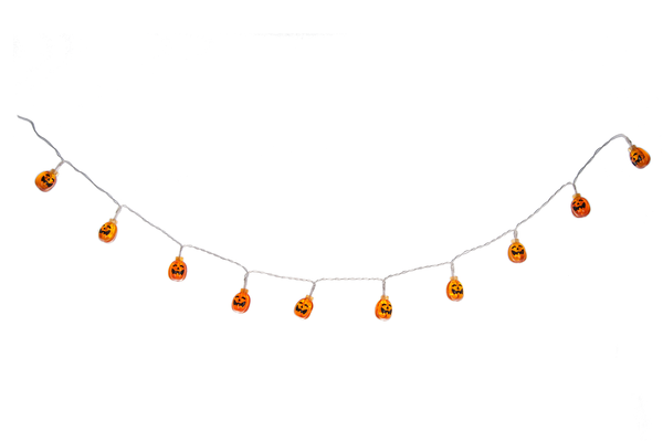 Halloween Light Up - Light Up Jack O Lantern Garland