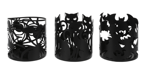 Halloween Votive Holders