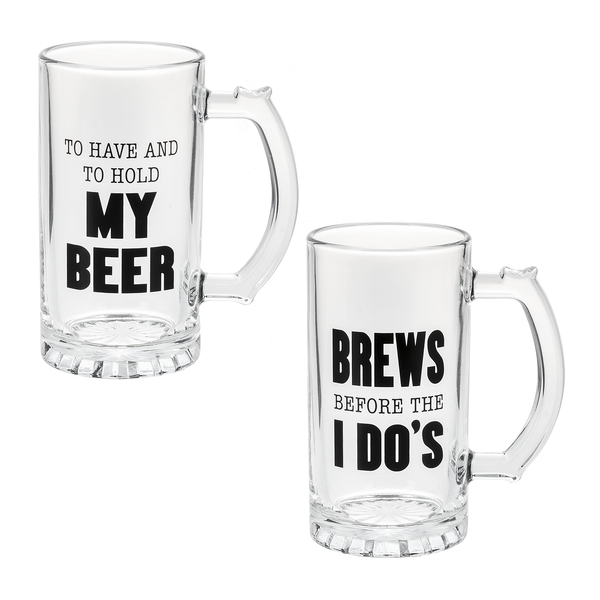 Groomsman Beer Mugs