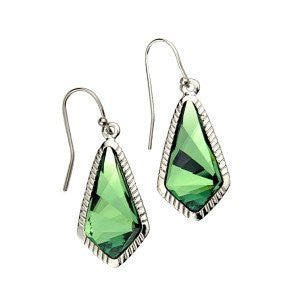 Luca + Danni Emerald Sloane Statement Earrings