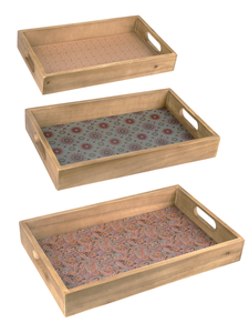 Vintage Patterns - Nesting Trays