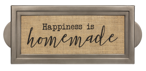 Happiness is Homemade Wall Plaque