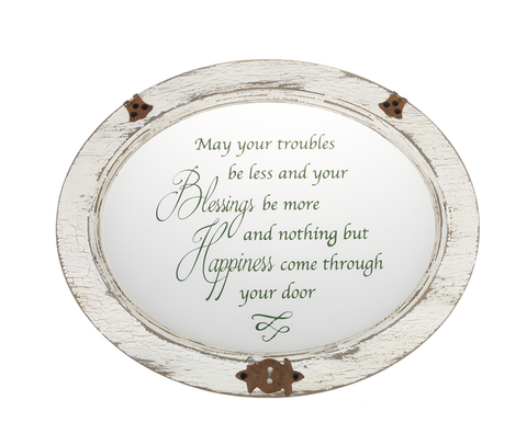 Blessing and Happiness Plaque