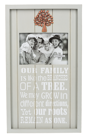 Shadow Box Frame - Our Family Tree