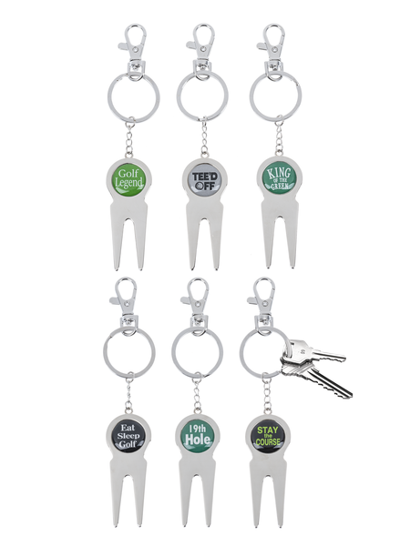 Golf Key Rings