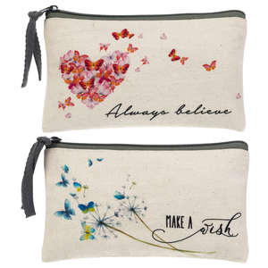 Butterfly Kisses - Zipper Cases