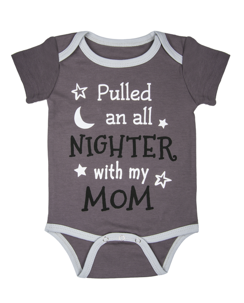 Diaper Shirt - Pulled an all nighter with my Mom