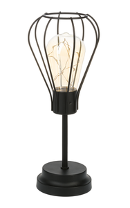 Wire Cage Bulb Light