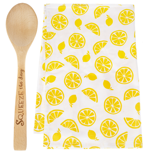Squeeze the Day Towel and Spoon Set