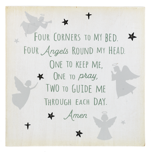 A Child's Prayer Light Up Wall Box Plaque